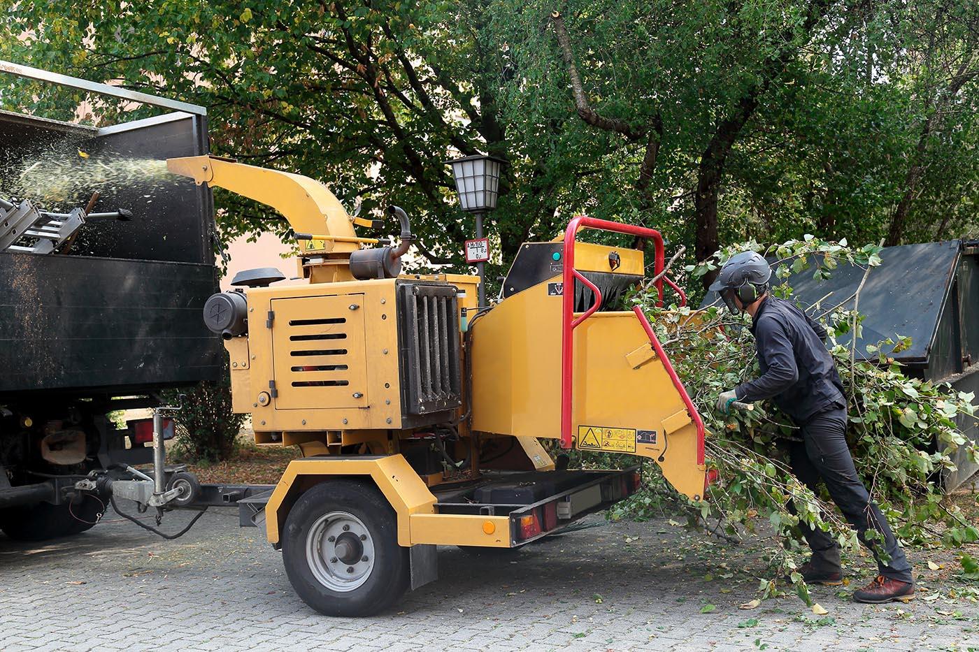Delmarva Arborists - Wood Chipper in Berlin, MD